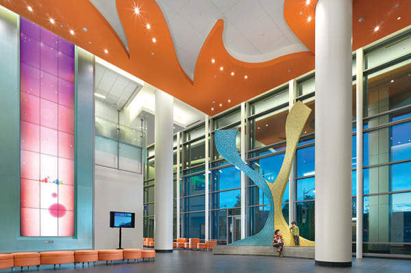 Benioff Children's Hospital lobby;