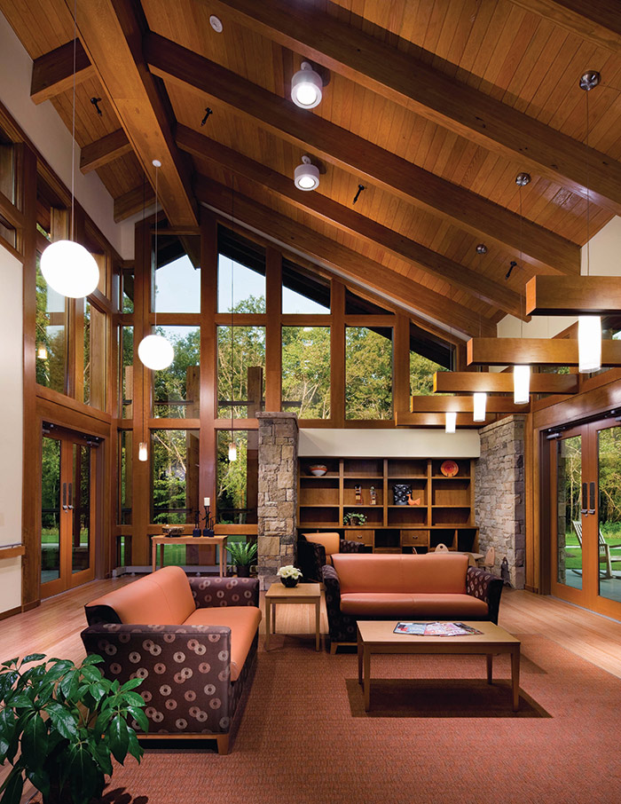 Rooms In Roof Designs: Hospice And Palliative Care Design