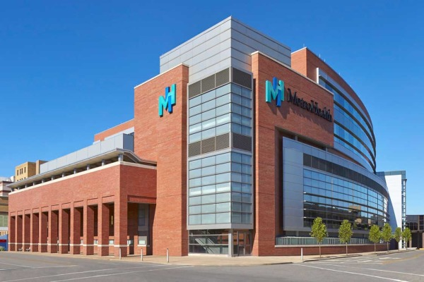 MetroHealth Campus Critical Care Pavilion Exterior