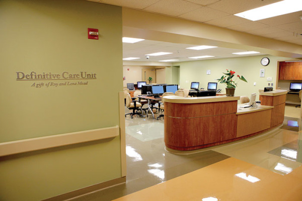 Enloe Medical Center nurses station