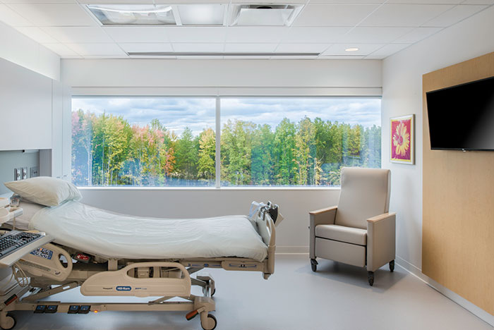 Cleveland Clinic Avon Hospital patient room