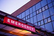 Emergency entrance exterior