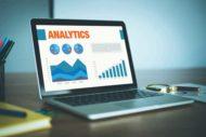 analytics on computer screen