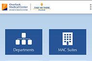 Overlook Medical Center app