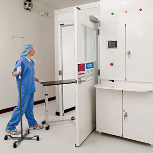 VaproQuip Decontamination Room