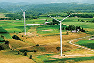 Gundersen Health Systems wind turbines