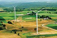 Gundersen Health Systems wind turbines