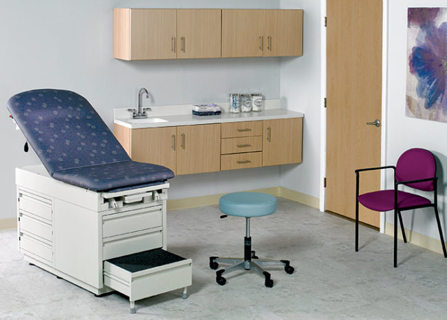 1116 interiors case intensa womens exam room pulse