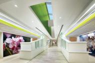SUNY Upstate Cancer Center reception area