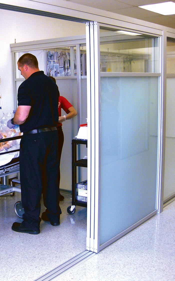 The Sliding Door Co.u0027s Panels Can Be Installed To Stack To One Side Of An  Opening.
