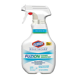 Fuzion cleaning supply bottle