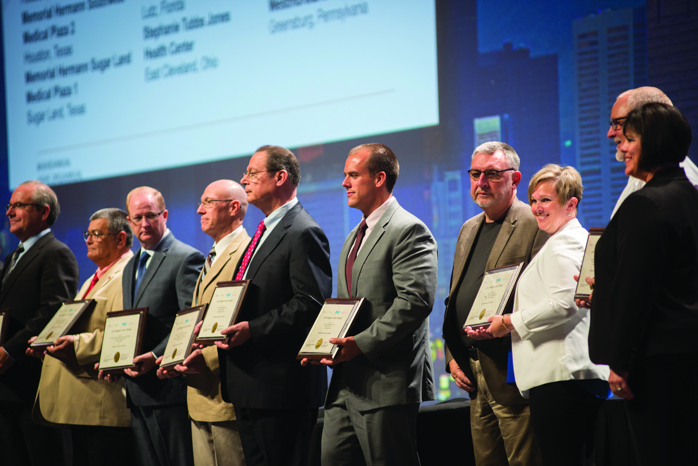 ASHE Energy to Care Honorees