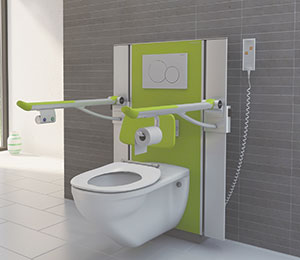Select series of height-adjustable toilets