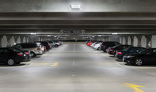Reston hospital is expecting an 81 percent reduction in annual energy consumption after switching to led in its parking garage