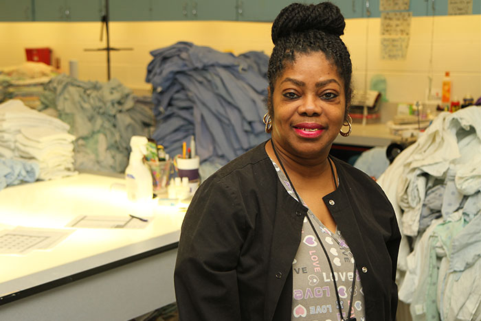Phiefee Brooks, Parkland Hospital employee
