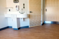 Forest rx flooring installed in Johns Hopkins Hospital