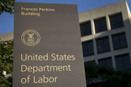 US Department of Labor sign