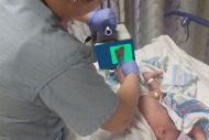 Certascan infant digital footprint scanner