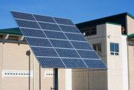 Solar panel at hospital