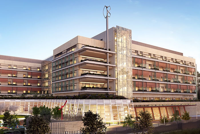 Children S Hospital Aims High For Medical Care Design And