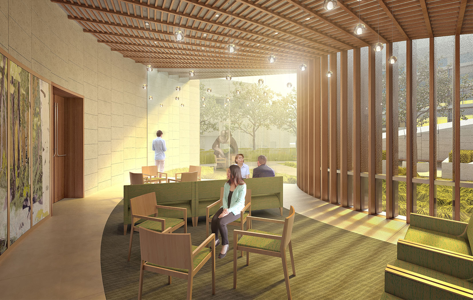 Children's hospital aims high for medical care, design and
