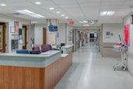 Nurse station at McLaren Health