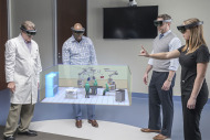 Designers use HoloLens to plan operating room