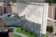 UPMC  Heart and Transplant Hospital at UPMC Presbyterian rendering