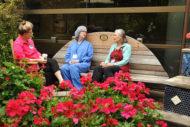 Legacy Emanuel Medical Center healing garden