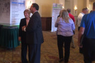 Patti Costello, Gary Dolan at AHE Exchange conference