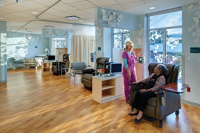 Grinnell Regional Medical Center Auxiliary chemotherapy and infusion suite
