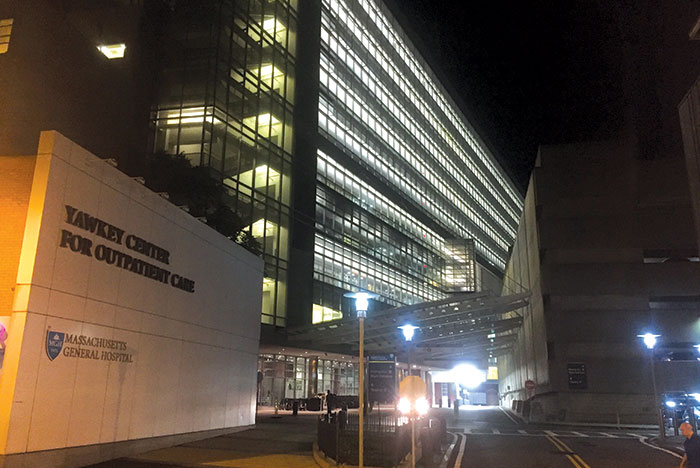 Massachusetts General lighting retrofit