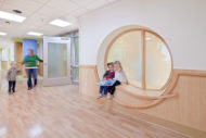 University of Minnesota Masonic Childrens Hospital window seat