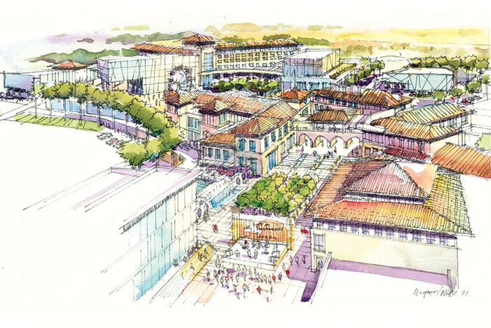 Union Village rendering