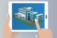 cyber real estate illustration
