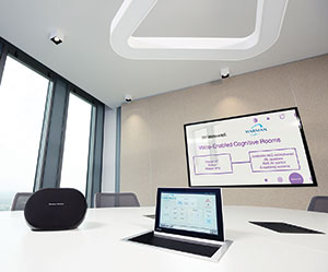 voice-enabled Cognitive Room from IBM