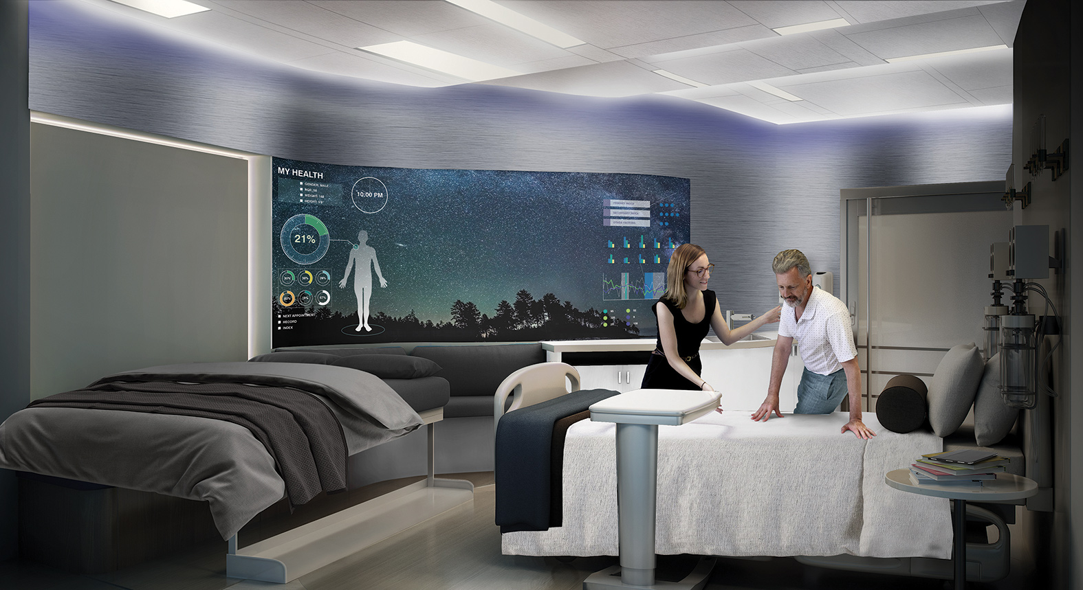 Virtual Conference Hospital Operating Room