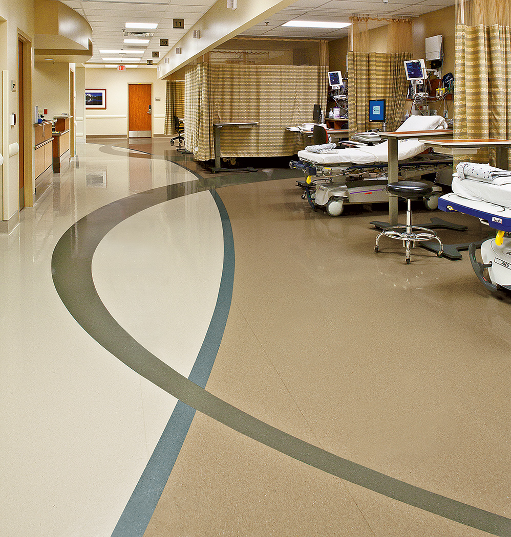 Long term sustainability health facilities management for Hom flooring