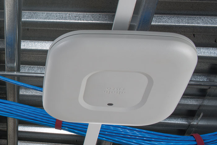 Wireless Access Point in ceiling