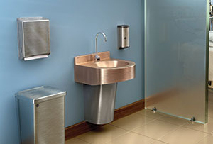 cuverro copper handwash station