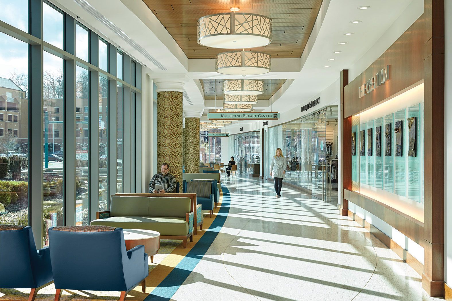 Health Care Facilities Go For High End Design In Retail