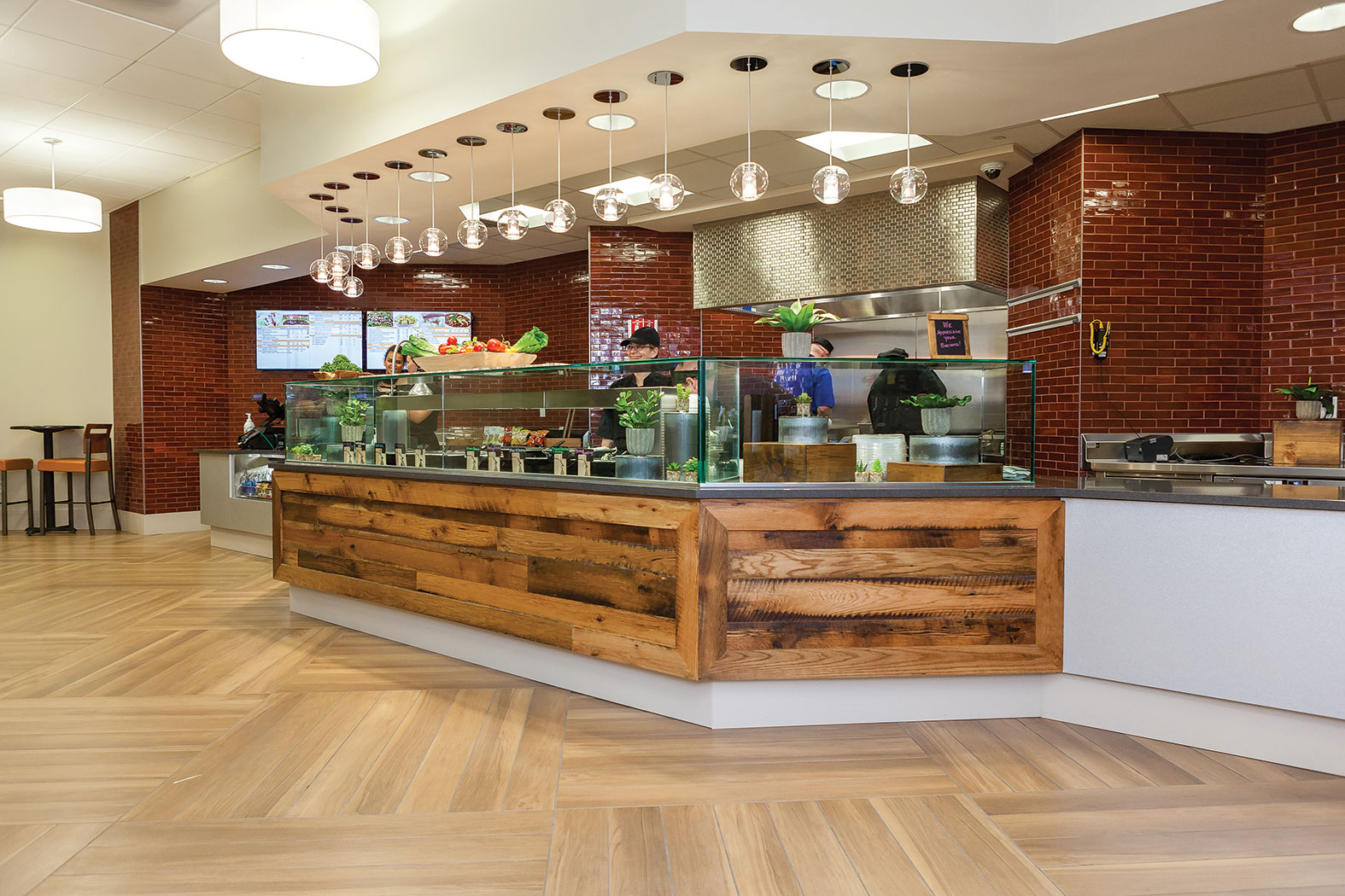 Hospitals Take A Fresh Look On Cafeteria Design Health