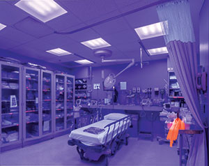 VioSafe Antibacterial White Light Disinfection LED tech