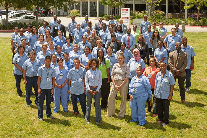 JPS Health Network ES staff