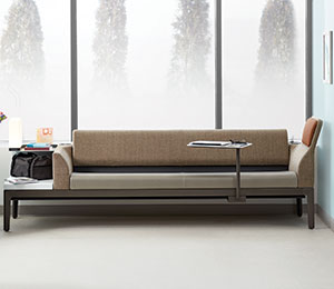 steelcase Surround Collection couch