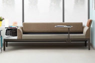 steelcase couch