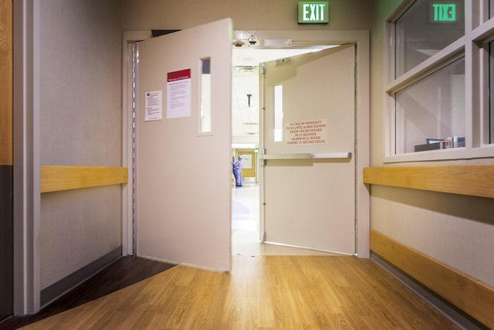 Hospital Corridor Lighting Design: Hospital Swinging-door Policy