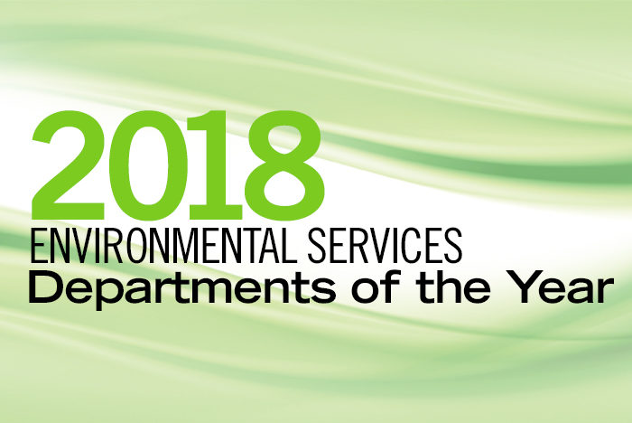 2018 Environmental Services Departments Of The Year Health