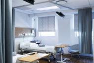 Hospital patient room