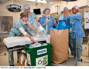 Hospitals Bring Waste Reduction To The Operating Room Hfm